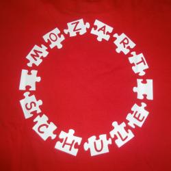 Förderverein Mozartschule T-Shirt (Hinten)