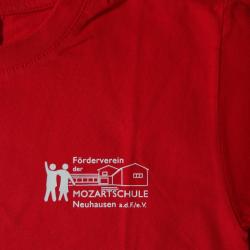 Förderverein Mozartschule T-Shirt (Hinten)Förderverein Mozartschule T-Shirt (Vorne)