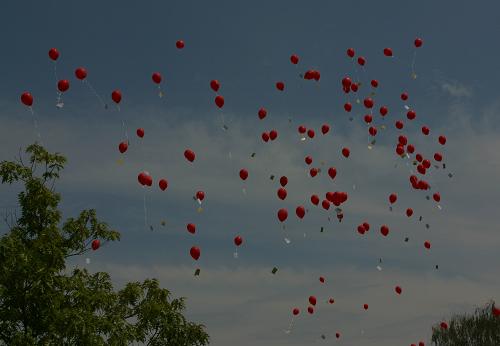 Luftballon Wettbewerb