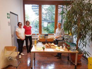 Förderverein der Mozartschule mit Helfern - Einschulung 2017